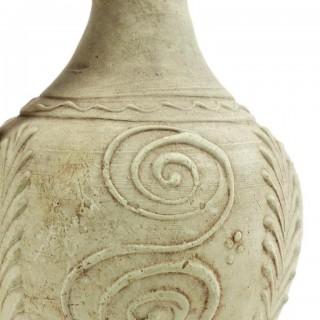 18th Century French White Stoneware Ewers Jugs
