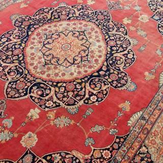 Antique Tabriz carpet