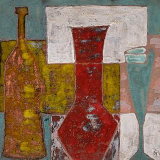 Ceramic Plaque by Gilbert Valentin