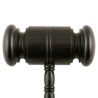 19th Century Ebony Gavel