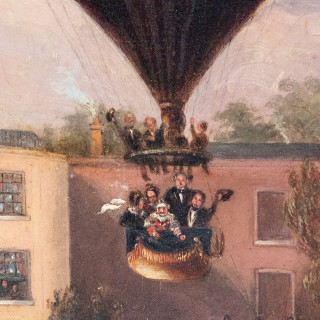 Ascent of Charles Green's Nassau Balloon from Cremorne House, Chelsea