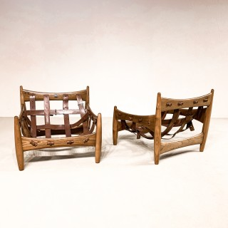 Pair of Sergio Rodrigues armchairs