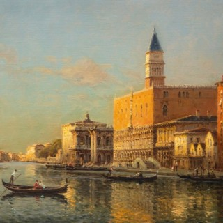 The Grand Canal by the Piazzetta & The Doges Palace