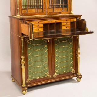 A Regency Period Secretaire Bookcase, Attributed to John McLean of London