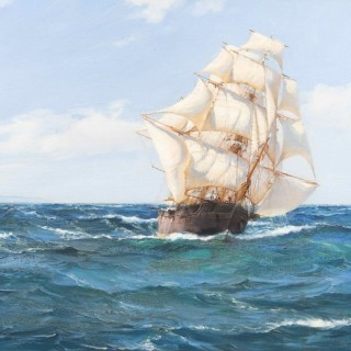 Out East, The Flying Fish Under Full Sail