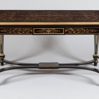 A Centre Table in the Manner of Andre-Charles Boulle By Charles-Guillaume Diehl