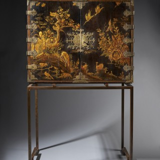 Charles II Japanned Cabinet