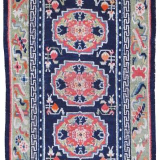 Antique Tibetan Khaden rug