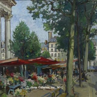 Constantin Kluge - Marche aux fleurs, Madeleine