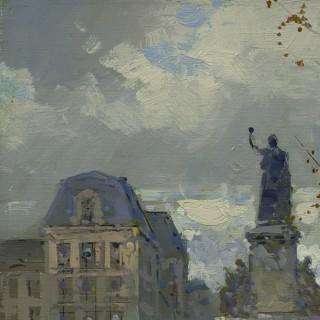Edouarad Leon Cortes - Place de la Republique