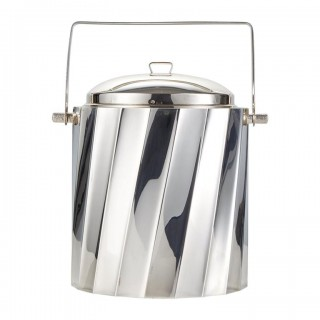 Mid-20th Century Sterling Silver Ice Bucket by Cartier Circa 1960