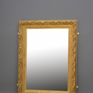 XIXth Century French Giltwood Wall Mirror