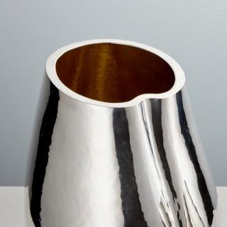 Mid-20th Century Italian Silver Aubergine Form Ice Buckets Circa 1960 In Stock