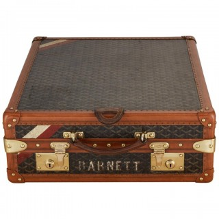 20th Century Vintage Goyard Luggage Trunk Circa 1920