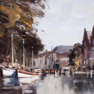 Quayside; Hoorn, Holland