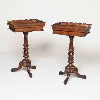 A Rare Pair of Jardiniere Tables firmly attributed to Gillow