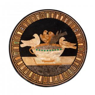 North European 19th Century Mahogany Centre Standing Table