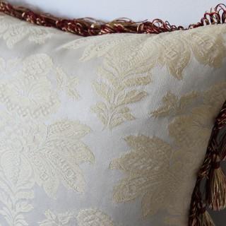 Antique Aubusson cushion