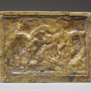 An Exceptional Renaissance Gilt-Bronze Relief