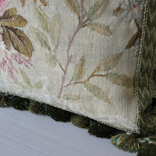 Aubusson cushion