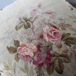 Aubusson cushion