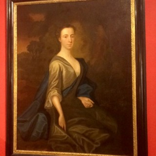 Geo II oilpainting of a lady ,possibly by Charles Jervas(1675-1739).