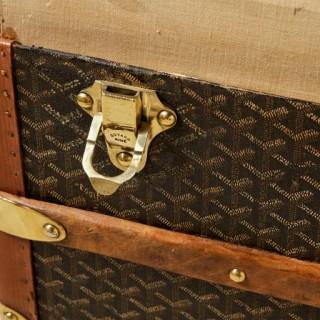 20th Century Vintage Goyard Trunk, circa 1920-1930