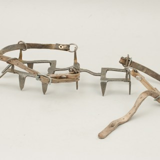 Pair Of Vintage Grivel Mountaineering Crampons