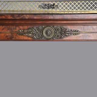 A superb Regency mahogany pedestal sideboard with excellent patina in the manner of Thomas Hope  (1769-1831)