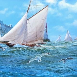 Steep Seas off the Needles