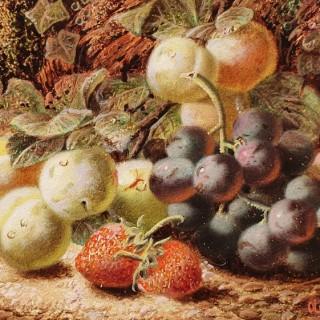Fruit Still Life (A Pair)