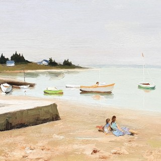 Boating Along the Shore, Brittany