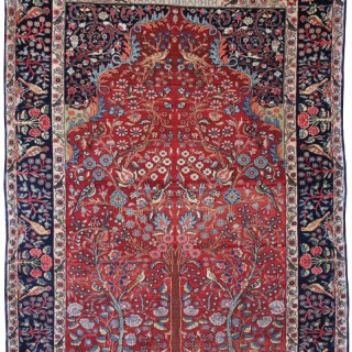Rare Antique Bidjar rug