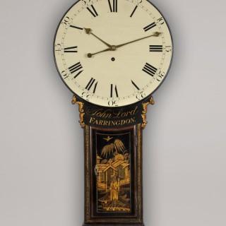 JOHN LORD, FARRINGDON. A FINE SMALL TAVERN TIMEPIECE