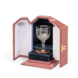 Admiral Viscount Nelson's wine glass commemorating the Battle of Copenhagen, 1801