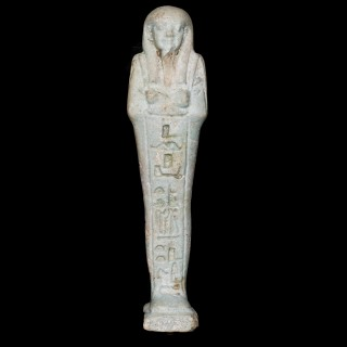 Egyptian Faience Shabti