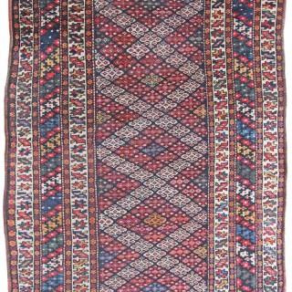 Antique Kurdish Lui rug