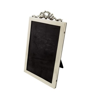 Antique Sterling Silver 'Bow/Ribbon' Photo Frame 1924