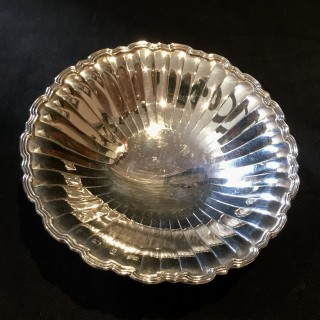 Small Mappin and Webb Silver Dish
