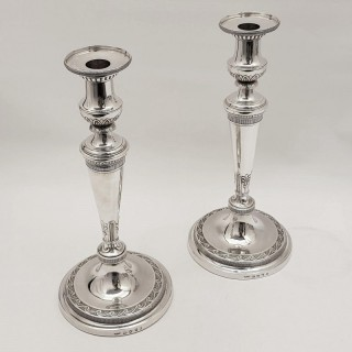 Georgian Silver Candlesticks