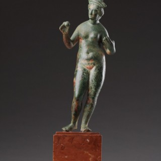 Fine Ancient Roman Bronze Figure of the Nude Venus