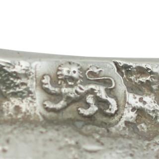 Sterling Silver Tapersticks - Antique George III (1769)
