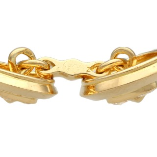1.36ct Diamond and 18ct Yellow Gold Cufflinks by Cartier - Vintage Circa 1990
