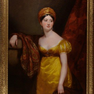 Portrait of Henrietta Shuckburgh