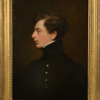 Portrait of a Young Naval Officer