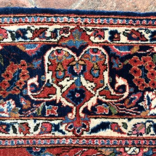 Pair of Antique Kashan rugs