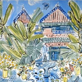 Bananas at Villa Oasis