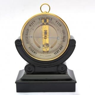 A Bourdon design aneroid barometer