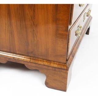 Antique Fine George II Burr & Figured Walnut Bureau C1730 18th Century