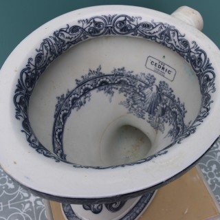 An Antique Toilet or W/C Pan 'The Cedric'